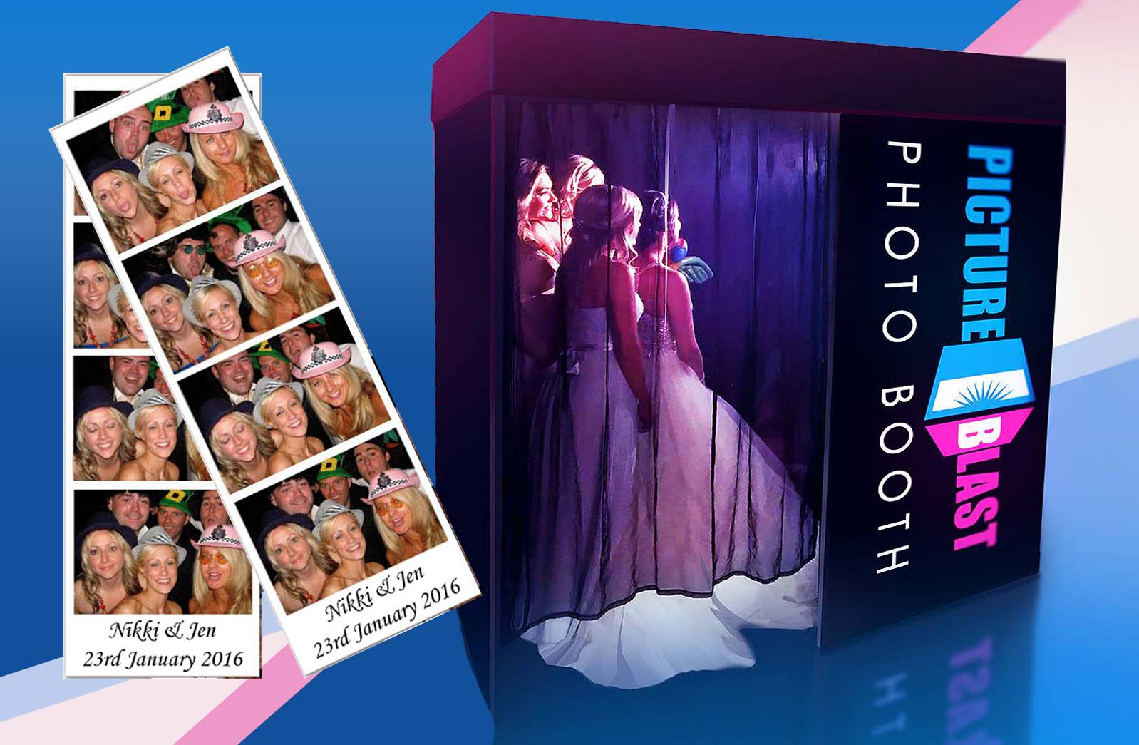 photo booth hire Powys